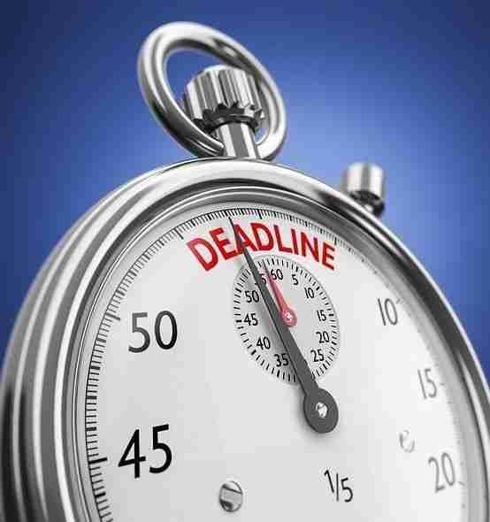 Summer 2018 Standard Session-Application Deadline